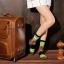 S329**พร้อมส่ง**(ปลีก+ส่ง) ถุงเท้าข้อยาว แฟชั่นเกาหลี วันฮาโลวีน มีหู มี 12 คู่ต่อแพ็ค เนื้อดี งานนำเข้า(Made in China) thumbnail 21