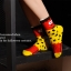 S329**พร้อมส่ง**(ปลีก+ส่ง) ถุงเท้าข้อยาว แฟชั่นเกาหลี วันฮาโลวีน มีหู มี 12 คู่ต่อแพ็ค เนื้อดี งานนำเข้า(Made in China) thumbnail 26