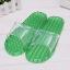 K021-GR**พร้อมส่ง** (ปลีก+ส่ง) รองเท้านวดสปา เพื่อสุขภาพ สีเขียว ปุ่มเล็ก(ใส)แบบนิ่ม ส่งคู่ละ 120 บ. thumbnail 1