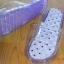 K015-PU**พร้อมส่ง** (ปลีก+ส่ง) รองเท้านวดสปา เพื่อสุขภาพ ปุ่มใหญ่แบบนิ่ม สีม่วง ถอดพื้นทำความสะอาดได้ ส่งคู่ละ 180 บ. thumbnail 8