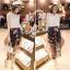 แฟชั่นเกาหลี set เสื้อและกางเกงสุดเก๋ สวยมากๆ thumbnail 7