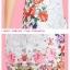ชุดเดรสสั้น Brand Puss Puss ชุดเดรส ผ้าลายดอกไม้สีขาว ช่วงไหล่ แขน ด้านข้างลำตัว และชายกระโปรง เป็นลายดอกไม้หลากสี สวยมากๆครับ (พร้อมส่ง) thumbnail 5