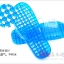 K012-SBL**พร้อมส่ง** (ปลีก+ส่ง) รองเท้านวดสปา เพื่อสุขภาพ ปุ่มเล็ก (ใส) สีฟ้า ส่งคู่ละ 80 บ. thumbnail 5