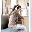 FASHION เสื้อแฟชั่นคอวี สีน้ำตาล ใส่เที่ยว ผ้าฝ้ายยืดหยุ่น แต่งฮูท กระเป๋าจิงโจ้ แฟชั่นมาใหม่ น่ารักมากๆ ครับ วัยรุ่นอินเทรนด์ thaishoponline (พร้อมส่ง) thumbnail 2