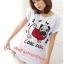 เสื้อยืดแฟชั่น ผ้านุ่ม ลาย Cool Dog (Size M:36 นิ้ว) สีขาว thumbnail 1