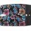 กระเป๋าสตางค์ปลากระเบน แบบ 3 พับ เม็ดใหญ่ ลวดลาย ดอกไม้และผีเสื้อราตรี หลากสีสีน Line id : 0853457150 thumbnail 7