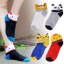 S278**พร้อมส่ง** (ปลีก+ส่ง) ถุงเท้าแฟชั่นเกาหลี พับข้อ ลายสัตว์ มีหู คละ 5 แบบ(สี)เนื้อดี งานนำเข้า(Made in China) thumbnail 1