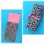 กระเป๋าผ้าTote bag สีชมพู + ลายดอกไม้บนพื้นสีกรมท่า thumbnail 3