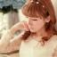ชุดเดรสสั้น Brand Aimilan (Princess style) ชุดเดรส ผ้าลูกไม้แขนยาวสีครีม ตัวเสื้อผ้าไหมแก้วเนื้อบาง เย็บซ้อนด้วยผ้าลายเส้น สวยมากๆครับ (พร้อมส่ง) thumbnail 7