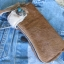 กระเป๋าสตางค์ยาว ขนวัวแท้ Style Cowboy รุ่น กระดุ่มสีตะค็อย thumbnail 2