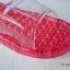 K021-RD**พร้อมส่ง** (ปลีก+ส่ง) รองเท้านวดสปา เพื่อสุขภาพ สีแดง ปุ่มเล็ก(ใส)แบบนิ่ม ส่งคู่ละ 120 บ. thumbnail 6