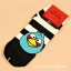 S055**พร้อมส่ง** (ปลีก+ส่ง) ถุงเท้าแฟชั่น ข้อสั้น ลาย Angry Bird เนื้อดี งานนำเข้า(Made in china) thumbnail 4