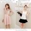 แฟชั่นเกาหลีสวยๆ set เสื้อ และกระโปรง สวยหวานมากๆ ครับ thumbnail 5