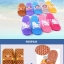K016 **พร้อมส่ง** (ปลีก+ส่ง) รองเท้านวดสปา เพื่อสุขภาพ ปุ่มเล็ก การ์ตูน มาใหม่ ส่งคู่ละ 150 บ. thumbnail 2
