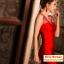 Pre-Order ชุดราตรีสั้น ชุดราตรีสีแดงเข้ารูป คอวี ตกแต่งด้วยคริสตัลสวยมากๆ ใส่ออกงานราตรีดูหรูหรา โดดเด่นมากๆ ครับ thumbnail 6
