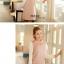 ชุดเดรสสั้น Brand Bluearly แท้ 100% ชุดเดรสทำงาน สีชมพู ผ้าโพลีเอสเตอร์อย่างดี ปักลายขนนกยูง คอปกโปโล แขนยาว thumbnail 2