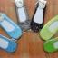 S023**พร้อมส่ง** (ปลีก+ส่ง) ถุงเท้าคัทชู สีสัน มีลาย ขอบลูกไม้ คละ 6 ลาย 6 สี เนื้อดี งานนำเข้า(Made in China) thumbnail 3