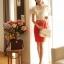 เสื้อเกาหลี style good you (แบรนด์แท้) เสื้อผ้าลูกไม้สีขาว แต่งระบายด้านหน้า ปักมุกที่ตัวเสื้อ แขนตุ๊กตามีซับในสวยเหมือนแบบครับ thumbnail 6