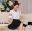 เสื้อชีฟอง สีขาว แฟชั่นเกาหลีใส่สบายตัวมากๆ thumbnail 2