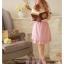 ชุดเดรสราคาถูก แฟชั่นเกาหลี แนวหวานน่ารัก เสื้อสีขาว คอกลม แขนกุด ด้านหน้าแต่งเป็นดอกกุหลาบ กระโปรงสีม่วง ผ้าชีฟอง มีซับใน ซื้อเป็นของขวัญให้แฟนเหมาะมากๆ ครับ(พร้อมส่ง) thumbnail 3