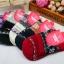 S362**พร้อมส่ง** (ปลีก+ส่ง) ถุงเท้าแฟชั่นเกาหลี ข้อยาว คละ 5 สี มี 12 คู่ต่อแพ็ค เนื้อดี งานนำเข้า(Made in China) thumbnail 3