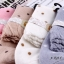 S353 **พร้อมส่ง** (ปลีก+ส่ง) ถุงเท้าแฟชั่นเกาหลี ข้อยาว คละ 5 สี มี 10 คู่/แพ็ค เนื้อดี งานนำเข้า(Made in China) thumbnail 16