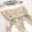 ชุดราตรียาว ออกงานสุดหรู แขนกุด ตัวชุดเป็นผ้ามุ้งเนื้อละเอียดนวล 2 ชั้น thumbnail 12