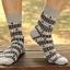S099**พร้อมส่ง** (ปลีก+ส่ง) ถุงเท้าแฟชั่นเกาหลีผู้ชาย ข้อยาว เนื้อดี งานนำเข้า(Made in china) thumbnail 9