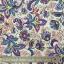 ผ้าฝ้าย cotton 100% ลายดอกไม้ใหญ่ โทนชมพูม่วง thumbnail 1