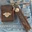 พวกกุญแจหนังวัวแท้ถัก + ซองใส่ ไฟเช็ค ( ฟรี ! ไฟเช็ค ) thumbnail 4