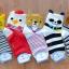S230**พร้อมส่ง** (ปลีก+ส่ง) ถุงเท้าแฟชั่นเกาหลี ข้อยาว ลายสัตว์ มีหู คละ 5 แบบ(สี)เนื้อดี งานนำเข้า(Made in China) thumbnail 2