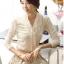 เสื้อแฟชั่น Brand Solo style เสื้อแขนยาว สีขาว ผ้าคอตตอนผสม spandex เนื้อนิ่มมาก ยืดหยุ่นได้ดี สวยมากๆครับ (พร้อมส่ง) thumbnail 1