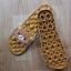 K020-ฺฺBR2**พร้อมส่ง** (ปลีก+ส่ง) รองเท้านวดสปา เพื่อสุขภาพ ปุ่มใหญ่สลับเล็ก (การ์ตูน) สีน้ำตาล ลายหมีคุมะ thumbnail 4