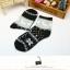 S362**พร้อมส่ง** (ปลีก+ส่ง) ถุงเท้าแฟชั่นเกาหลี ข้อยาว คละ 5 สี มี 12 คู่ต่อแพ็ค เนื้อดี งานนำเข้า(Made in China) thumbnail 13