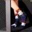 S329**พร้อมส่ง**(ปลีก+ส่ง) ถุงเท้าข้อยาว แฟชั่นเกาหลี วันฮาโลวีน มีหู มี 12 คู่ต่อแพ็ค เนื้อดี งานนำเข้า(Made in China) thumbnail 8