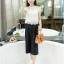 เสื้อผ้าแฟชั่นเกาหลี set เสื้อ และกางเกงสวยมากๆ ครับ thumbnail 3