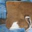 กระเป๋าสตางค์ยาว ขนวัวแท้ Style Cowboy รุ่น กระดุ่ม นิกเกอล รูปหัวม้า thumbnail 5