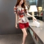แฟชั่นเกาหลี set เสื้อและกางเกงขาสั้น สวยน่ารักมากๆ thumbnail 3