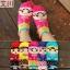 S287**พร้อมส่ง** (ปลีก+ส่ง) ถุงเท้าแฟชั่นเกาหลี ลายการ์ตูน ข้อยาว เนื้อดี งานนำเข้า(Made in China) thumbnail 1