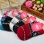 S362**พร้อมส่ง** (ปลีก+ส่ง) ถุงเท้าแฟชั่นเกาหลี ข้อยาว คละ 5 สี มี 12 คู่ต่อแพ็ค เนื้อดี งานนำเข้า(Made in China) thumbnail 1