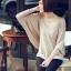 เสื้อยืดแฟชั่น แฟชั่นเกาหลี แขนค้างคาว สีแอพพริคอท ใส่สบาย ใส่เที่ยว ใส่ทำงาน ชิวๆ เสื้อผ้าแฟชั่นราคาถูก thaishoponline (พร้อมส่ง) thumbnail 6