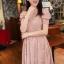 ชุดเดรสสั้น แฟชั่นเกาหลี ใส่ออกงานได้ สีชมพู ผ้าชีฟอง แขนตุ๊กตา โชว์หลัง กระโปรงบาน เป็นชุดเดรสแบบปล่อย สวยน่ารัก ๆ (พร้อมส่ง) thumbnail 4
