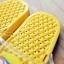 K016-YL **พร้อมส่ง** (ปลีก+ส่ง) รองเท้านวดสปา เพื่อสุขภาพ ปุ่มเล็ก ลายโพโรโร่ สีเหลือง thumbnail 5