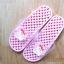 K011-PPK **พร้อมส่ง** (ปลีก+ส่ง) รองเท้านวดสปา เพื่อสุขภาพ ปุ่มเล็ก ลายมายเมโลดี้ สีชมพูอ่อน thumbnail 2