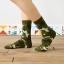 S313**พร้อมส่ง**(ปลีก+ส่ง) ถุงเท้าข้อยาว แฟชั่นเกาหลี มี 12 คู่ต่อแพ็ค พร้อมกล่อง เนื้อดี งานนำเข้า(Made in China) thumbnail 3