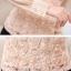เสื้อแฟชั่น ตัวเสื้อด้านหน้าเป็นผ้ารูปดอกไม้ สีชมพูโอรส thumbnail 8