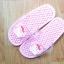 K016-PK **พร้อมส่ง** (ปลีก+ส่ง) รองเท้านวดสปา เพื่อสุขภาพ ปุ่มเล็ก ลายมายเมโลดี้ สีชมพู thumbnail 3