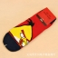 S055**พร้อมส่ง** (ปลีก+ส่ง) ถุงเท้าแฟชั่น ข้อสั้น ลาย Angry Bird เนื้อดี งานนำเข้า(Made in china) thumbnail 2