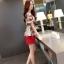 แฟชั่นเกาหลี set เสื้อและกางเกงขาสั้น สวยน่ารักมากๆ thumbnail 4