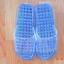 K012-SBL**พร้อมส่ง** (ปลีก+ส่ง) รองเท้านวดสปา เพื่อสุขภาพ ปุ่มเล็ก (ใส) สีฟ้า ส่งคู่ละ 80 บ. thumbnail 1